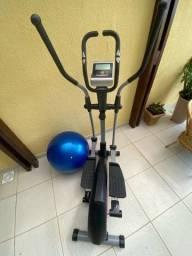 Título do anúncio: Elíptico Profissional + Kit caneleira peso 2/4kg + colchonete e bola de Pilates