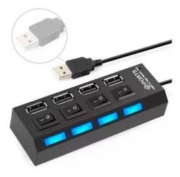 USB HUB 4 PORTAS