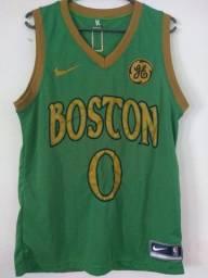 Camisas dos Celtics (verde e amarela)