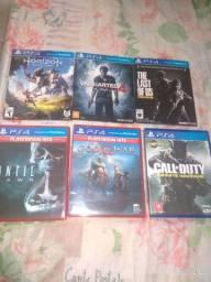 Vendo jogos de PS4. Todos por 200 R$