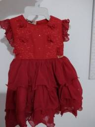 Vestido bebê 6 meses