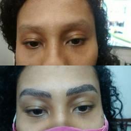 Micropigmentação de sobrancelhas