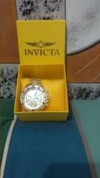 Título do anúncio: Relógios Invicta Dourado
