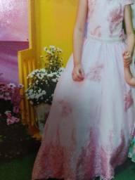 Vestido infantil p/ daminha ou formatura