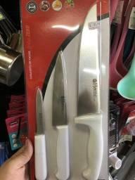 Título do anúncio: Conjunto de facas