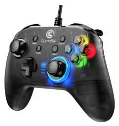 Controle joystick GameSir T4w preto com fio