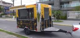 Trailer Cantos Arredondados Food Truck Diferenciado Fabricante Especialista