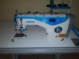 Maquina reta industrial Eletronica Jack
