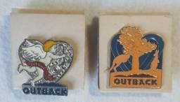 Pins Outback pra Coleção.