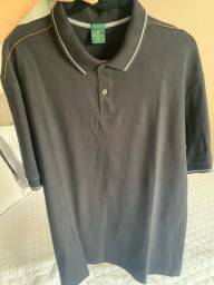 Camisa polo brooksfield XGG preta (novinha)