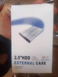 Título do anúncio: Case para hd notebook 2.5 ubs 2.0