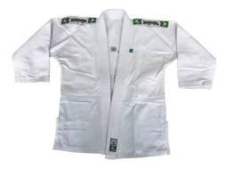 Kimono Judo Yama Trançado Light Branco Adulto Unissex<br><br>