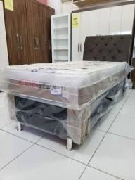 Título do anúncio: CAMA SOLTEIRO BOX MOLAS nova 890,00! ENTREGA IMEDIATA!