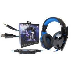 Headset gamer KP-455A