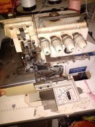 Título do anúncio: Máquina de costura industrial interloque lamax