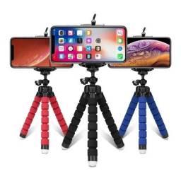 Mini tripé para celular
