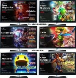 Promoção Férias Video Game Retro 10mil Jogos