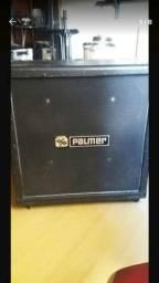 Caixa gabinete 4x12 parqa guitarra Palmer estilo Marshall