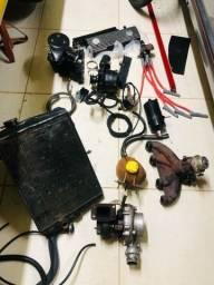 Vendo Kit Turbo Ap Turbina Carburador Coletor Válvulas Corte Giro
