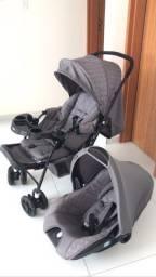 Carrinho e bebê conforto bebê menino