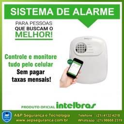 Sistema de alarme residencial ou comercial monitorado pelo celular (Intelbras)