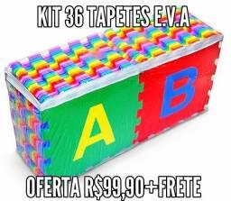 Kit 36 tapetes/Tatames E.V.A