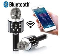 Microfone Portátil de Karaoke Sem fio Bluetooth alto-falante