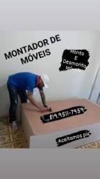 MONTO E DESMONTO MÓVEIS.