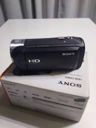 Filmadora Sony cx405 mais kit live