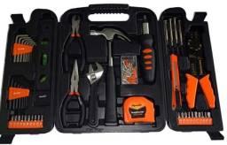 Maleta de ferramentas kit com 129 peças Sparta-Produto Novo-Entrega Grátis