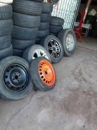 Borracharia 4 rodas 93- * Vendo por unidade aro 13-14-15-16-17