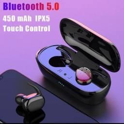 QUEIMA DE ESTOQUE ? Fone de ouvido Y30 Bluetooth 5.0 excelente qualidade com grave