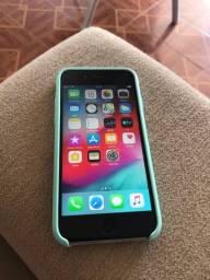 iPhone 6  16g Prata bateria 100/ todo bom