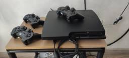 PS3Slim 160Gb cech-3001a Travado + 15 jogos originais