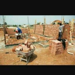 Construção e reformas, atendo fazendas também