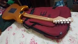 Fender mexicana Standard Satin 529 gold