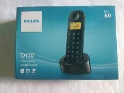 Telefone Sem Fio Philips DECT 6.0 - D120
