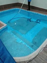 Limpeza de piscina e manutenção em geral