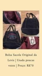 Bolsa sacola Original da Levis