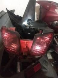 Lanterna traseira da Dafra citicom 300