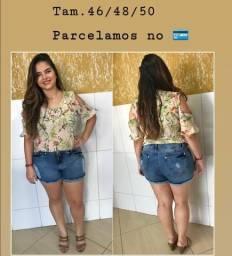 Shorts Jeans Plus size Tam 46/48/50