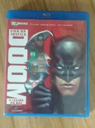 DVD Blu-ray DOOM Liga da Justiça