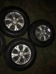 Rodas e pneus frontier
