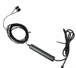 Microfone Leson Lapela Ml-70 Duplo