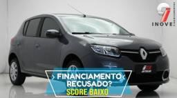 Renault Sandero Score Baixo Baixa Entrada - 2016