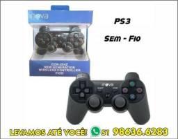 Controle Play 3 Ps3 sem Fio Novo