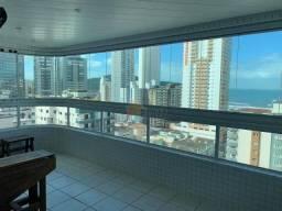 Apartamento com 2 dormitórios à venda, 92 metros, 2 vagas, vista para o mar, Vila Guilherm