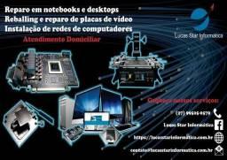 Reballing Placa de Vídeo | Notebook | Reparo Desktop e Notebook| Suporte Remoto