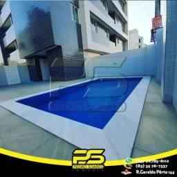 Apartamento com 3 dormitórios à venda, 81 m² por R$ 318.000,00 - Água Fria - João Pessoa/P