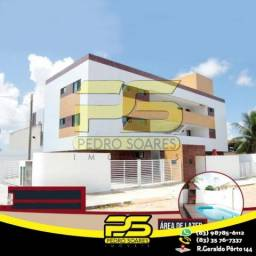 Apartamento com 2 dormitórios à venda, 60 m² por R$ 134.900,00 - Bairro das Indústrias - J